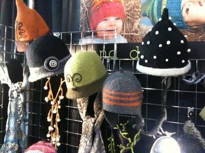 MelonHead KnitWear's Market Booth Display